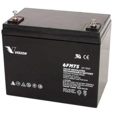 Аккумулятор Vision FM 12V 75Ah