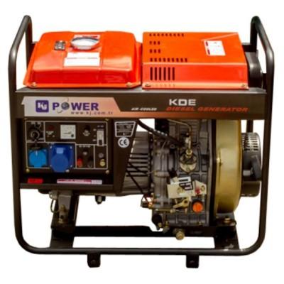 Генератор дизельный KJ Power KDE5500Е3