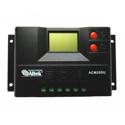 Контроллер заряда аккумуляторных батарей Altek АСМ20D+USB