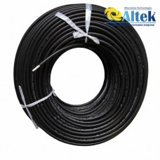 Солнечный кабель Altek 6 мм, черный