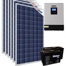 Солнечная станция - источник бесперебойного питания 2.4 кВт