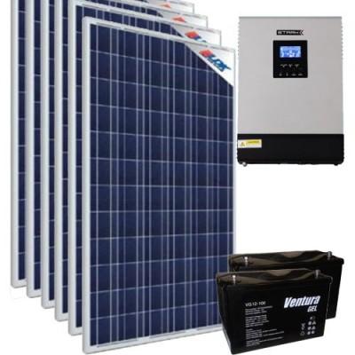 Солнечная станция - источник бесперебойного питания 4 кВт