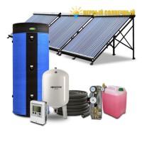 Солнечные коллекторы для нагрева воды - 500 л