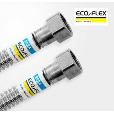 """Шланг металлический нержавеющий Eco-Flex Вода/Тепло 1"""" 80 см"""