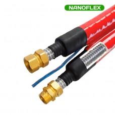 Трубопровод Nanoflex DN 16, двойной, красный цвет
