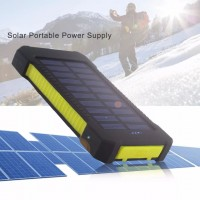 Портативное зарядное устройство на солнечной батарее FGHGF 20000 мАч