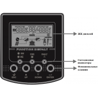 Инвертор гибридный AXIOMA energy 2000ВА, 24В, ISPWM 2000