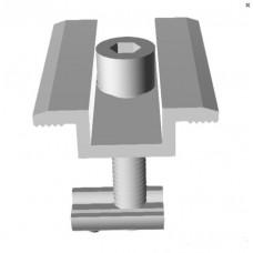 Прижим средний аллюминиевый в сборе 35 мм