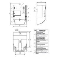 Однофазный счетчик MTX 1A10.DH.2L2-G4