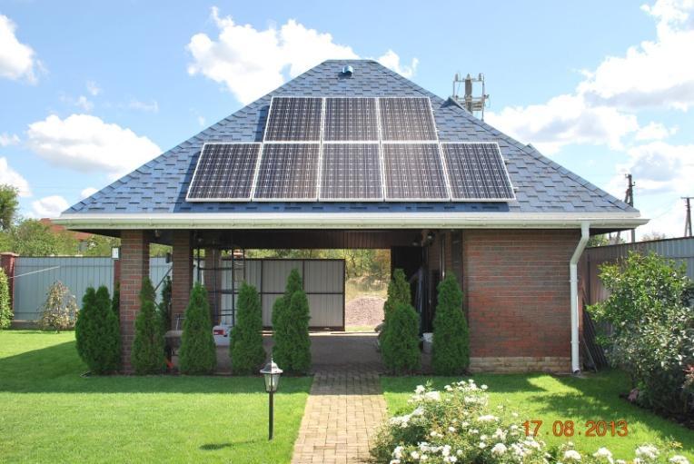Фотоэлектрические солнечные станции в Украине и Одессе